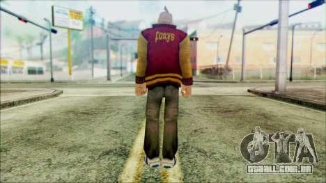 Manhunt Ped 17 para GTA San Andreas segunda tela