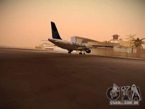 Airbus A320-211 Aigle Azur para GTA San Andreas vista direita
