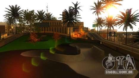 Texturas HD skate Park e hospital V2 para GTA San Andreas décima primeira imagem de tela