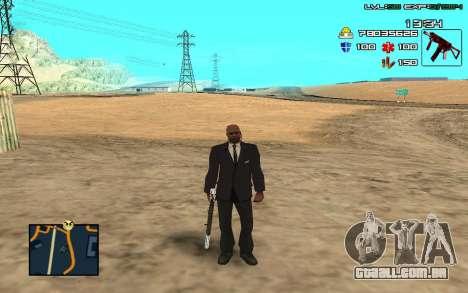 C-HUD by SampHack v.11 para GTA San Andreas