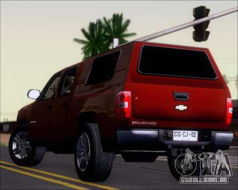 Chevrolet Silverado 2011 para o motor de GTA San Andreas