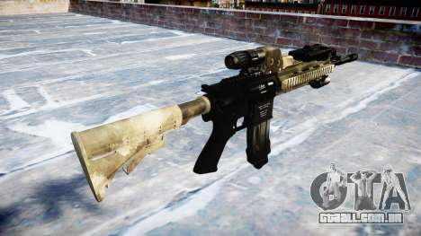 Automatic rifle Colt M4A1 mack há para GTA 4 segundo screenshot
