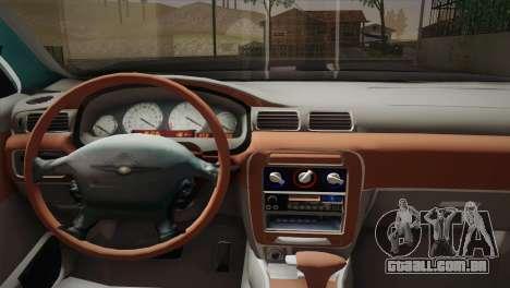 Chrysler 300M para GTA San Andreas traseira esquerda vista