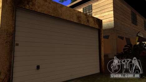 Novas texturas HD casas na grove street v2 para GTA San Andreas terceira tela