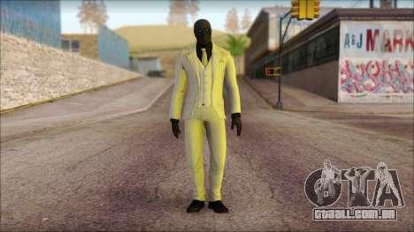 Black Mask From Batman: Arkham Origins para GTA San Andreas