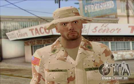 California National Guard Skin 1 para GTA San Andreas terceira tela