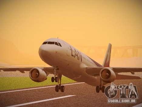 Airbus A320-214 LAN Airlines 80 Years para GTA San Andreas