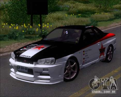 Nissan Skyline GT-R R34 V-Spec II para GTA San Andreas