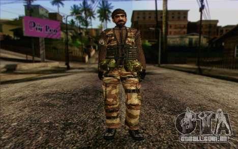 Soldados MEK (Battlefield 2) Pele 2 para GTA San Andreas