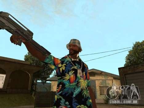 Pose gangster para GTA San Andreas terceira tela