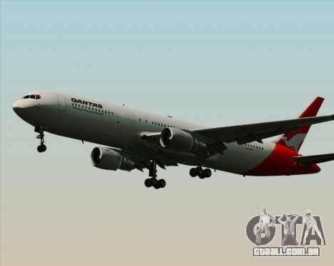 Boeing 767-300ER Qantas para GTA San Andreas esquerda vista
