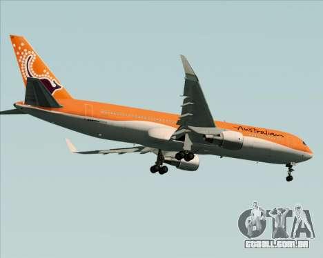 Boeing 767-300ER Australian Airlines para GTA San Andreas vista direita
