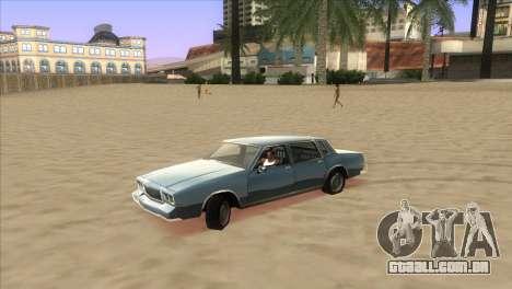 Bright ENB Series v0.1 Alpha by McSila para GTA San Andreas por diante tela