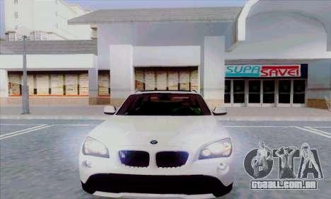 Bmw X1 para GTA San Andreas esquerda vista