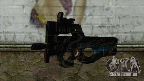 P90 from PointBlank v1 para GTA San Andreas