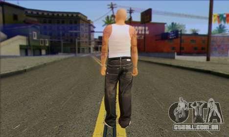 Vagos from GTA 5 Skin 2 para GTA San Andreas segunda tela