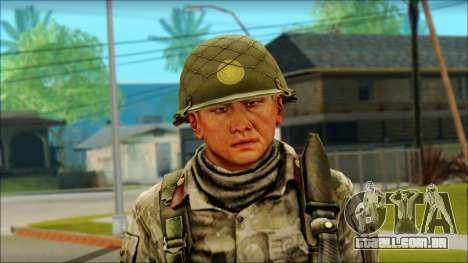 Um soldado Norte-coreano (Rogue Warrior) para GTA San Andreas terceira tela