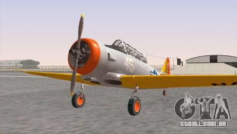 North American T-6 TEXAN N645DS para GTA San Andreas