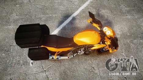 Yamaha V-ixion 150cc para GTA 4 vista direita