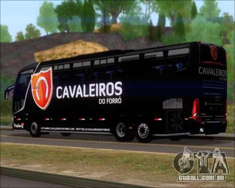 Marcopolo Paradiso G7 1600LD Scania K420 para GTA San Andreas traseira esquerda vista