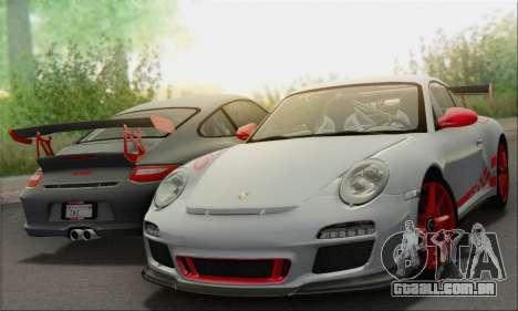 Porsche 911 GT3 2010 para o motor de GTA San Andreas