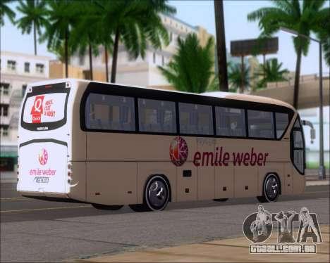 Neoplan Tourliner Emile Weber para GTA San Andreas traseira esquerda vista