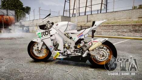 Honda RC211V para GTA 4 esquerda vista