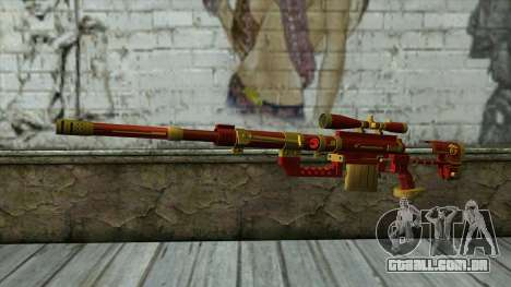 Sniper Rifle from PointBlank v1 para GTA San Andreas