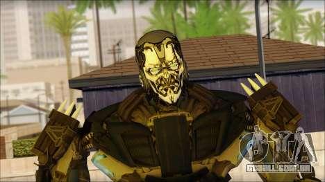 Bloqueio para GTA San Andreas terceira tela