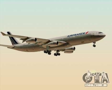 Airbus A340-313 Air France (New Livery) para as rodas de GTA San Andreas
