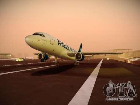 Airbus A320-211 Aigle Azur para GTA San Andreas