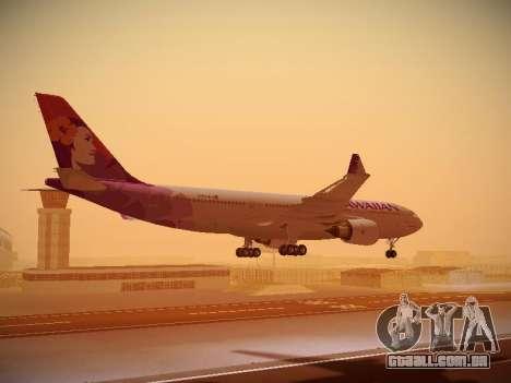 Airbus A330-200 Hawaiian Airlines para o motor de GTA San Andreas