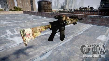 Automatic rifle Colt M4A1 ronin para GTA 4 segundo screenshot