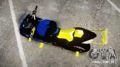 Yamaha R1 2007 Stunt para GTA 4 vista direita