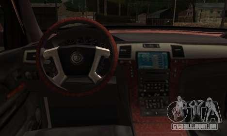 Ford Explorer 1996 para GTA San Andreas traseira esquerda vista