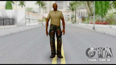 Army Vic para GTA San Andreas