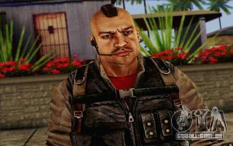 Os soldados de Rogue Warrior 2 para GTA San Andreas terceira tela