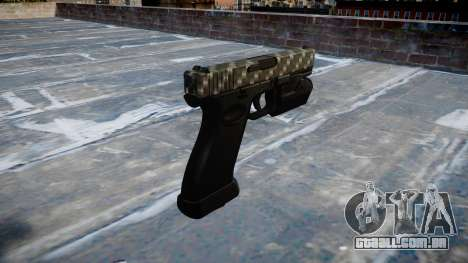 Pistola Glock de 20 de fibra de carbono para GTA 4 segundo screenshot