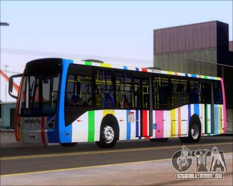 Caio Millennium II Volksbus 17-240 para GTA San Andreas esquerda vista