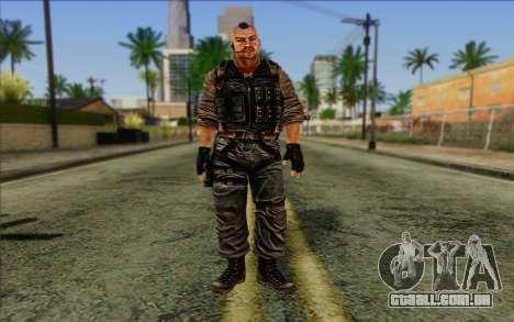 Os soldados de Rogue Warrior 2 para GTA San Andreas