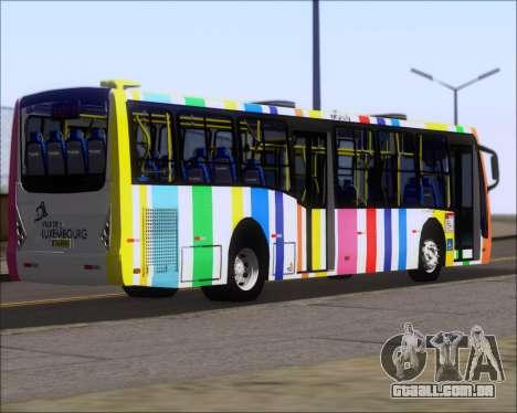 Caio Millennium II Volksbus 17-240 para GTA San Andreas traseira esquerda vista