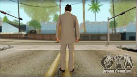 Michael from GTA 5v2 para GTA San Andreas segunda tela