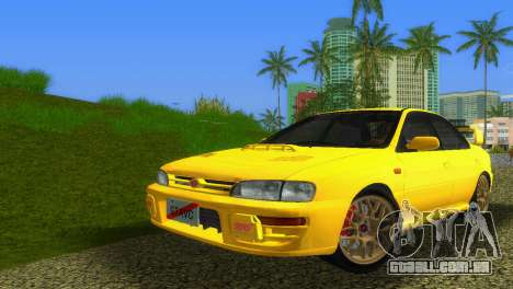Subaru Impreza WRX STI GC8 Sedan Type 1 para GTA Vice City deixou vista