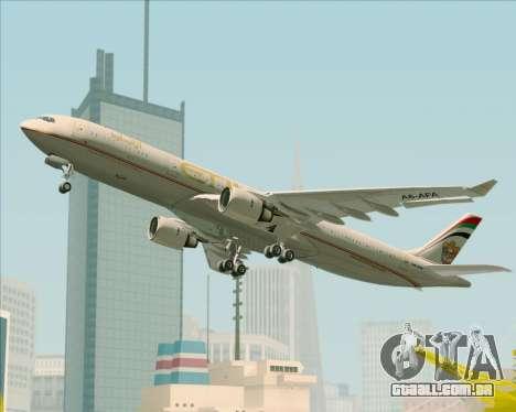 Airbus A330-300 Etihad Airways para as rodas de GTA San Andreas
