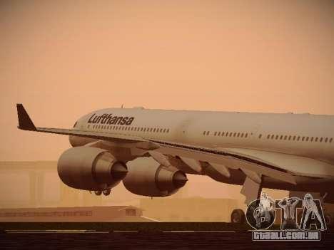 Airbus A340-600 Lufthansa para GTA San Andreas