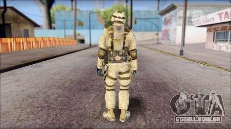 USA Soldier para GTA San Andreas segunda tela
