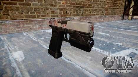 Pistola Glock de 20 de cereja blososm para GTA 4