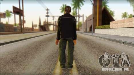 GTA 5 Ped 4 para GTA San Andreas segunda tela
