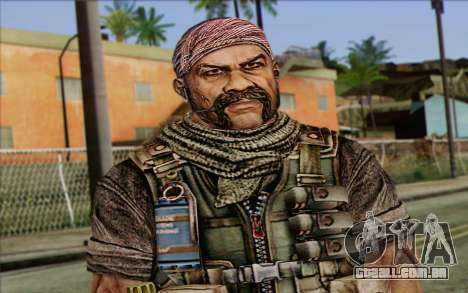 Os soldados de Rogue Warrior 3 para GTA San Andreas terceira tela
