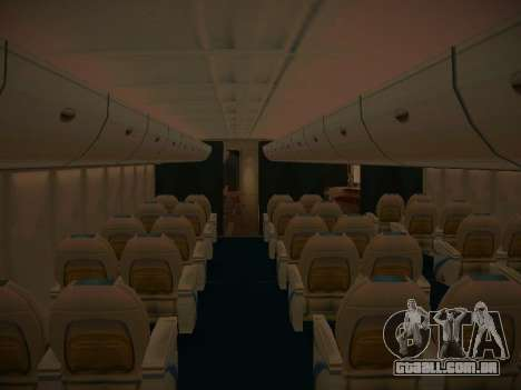 Airbus A380-800 Korean Air para as rodas de GTA San Andreas
